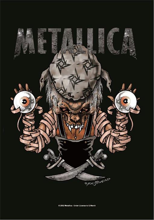 Metallica Pirates Wall Flag  HLF0509
