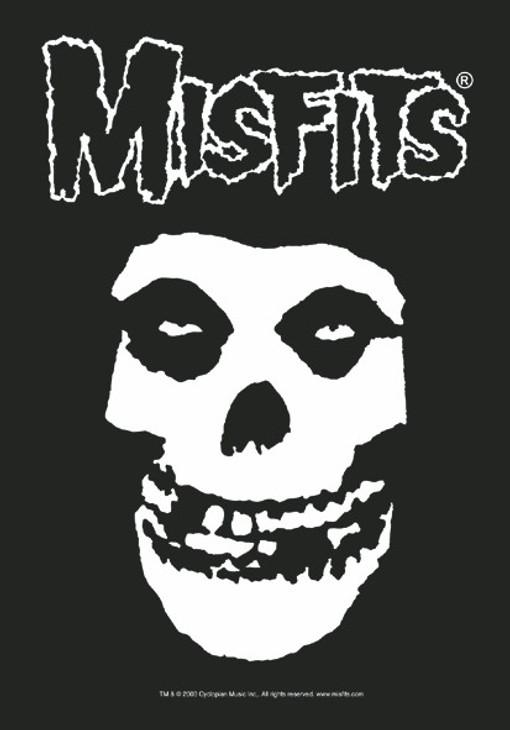 Misfits Classic Fiend Skull Wall Flag  HFL0535