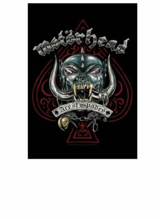 Motörhead Ace Of Spades Wall Flag  HFL1202