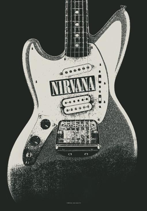 Nirvana Jag Stang Wall Flag  HFL0963