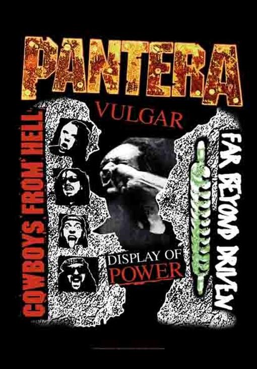 Pantera 3 Albums Wall Flag  HFL1146