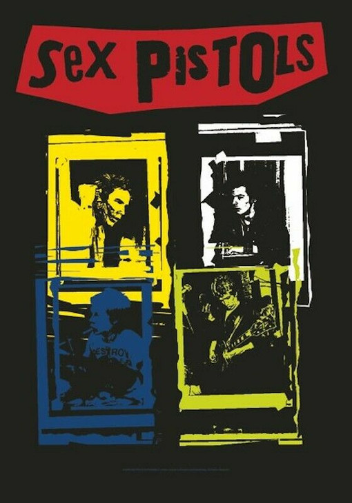 Sex Pistols Wall Flag HFL0820