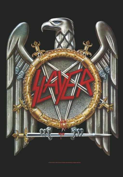 Slayer Eagle Wall Flag  HFL0059