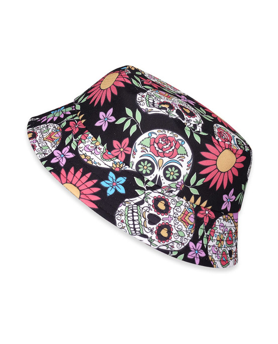 Six Bunnies Sugar Skull Kid's Hat  SB-AHB-19001