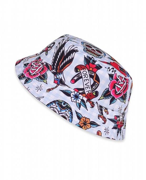 Six Bunnies Tattoo Shoppe Blue Kid's Hat  SB-AHB-19005
