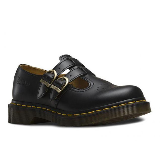 Dr. Martens 8065 Mary Jane Black Smooth  DR-12916001