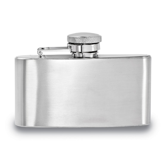 3oz Stainless Steel Hip Flask  FLASK-SS-3