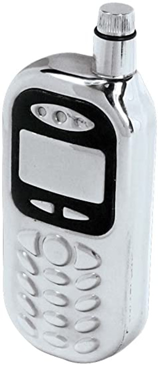 4oz Cell-Phone Stainless Flask  FLASK-CELL