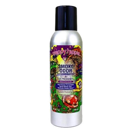 Smoke Odor Exterminator 7oz Trippy Hippie Air Freshener Spray  SOES-TH