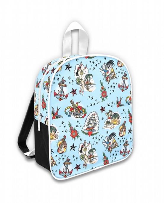 Six Bunnies Aloha Kid's Backpack  SB-BPK-053