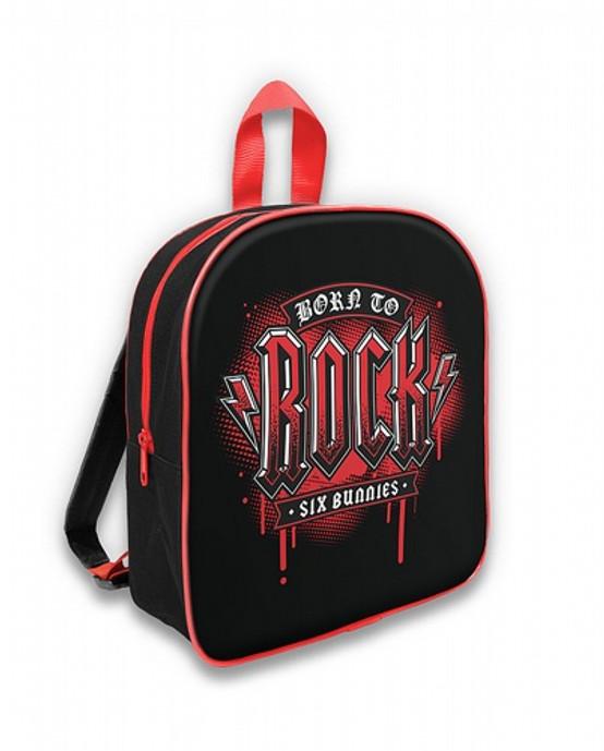 Six Bunnies Born To Rock Kid's Backpack  SB-BPK-014
