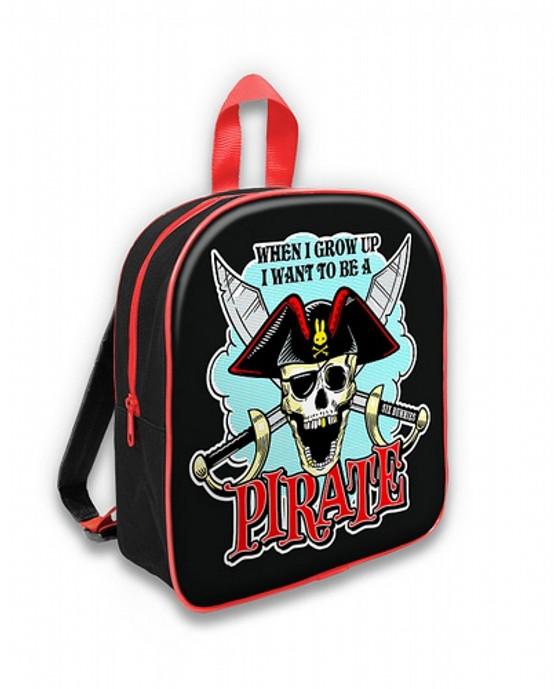 Six Bunnies Jolly Roger Kid's Backpack  SB-BPK-024