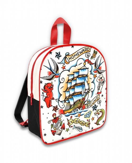 Six Bunnies Old School Kid's Backpack  SB-BPK-056