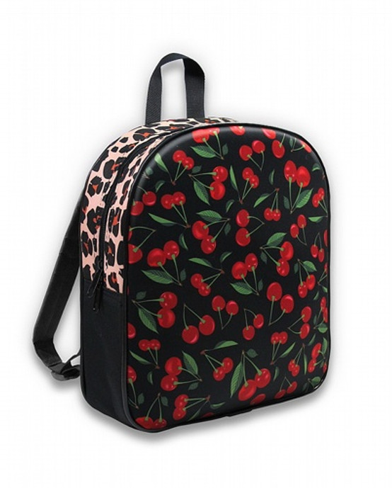 Six Bunnies Cherries Leo Kid's Backpack  SB-BPK-049
