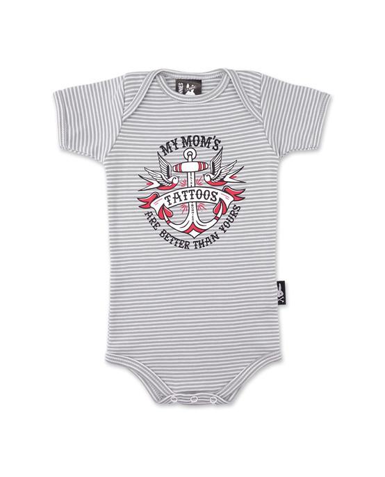 Six Bunnies Mommy's Tattoos Baby Romper  SB-BRXX-19021