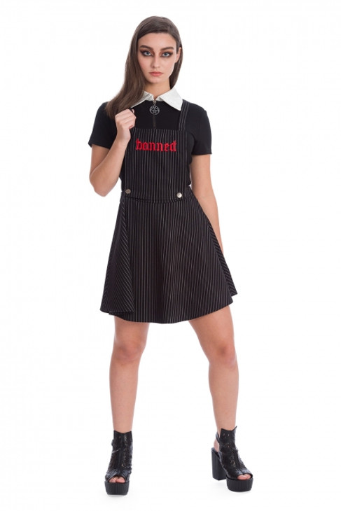 Banned End Of Time Pinafore Skirt  SK25263