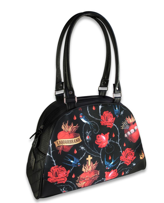 Liquor Brand Sacred Hearts Bowling Bag  LB-SH-BB