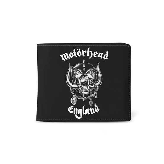 Rocksax Motörhead England Wallet  WALMHD01