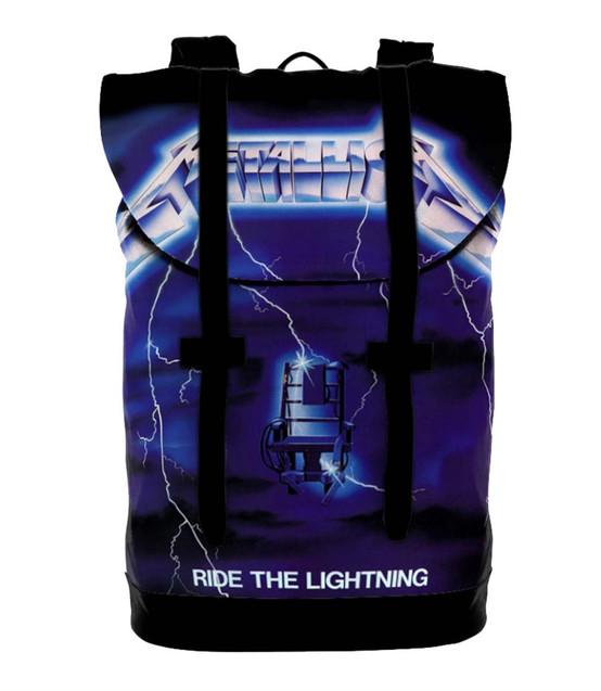 Rocksax Metallica Ride The Lightning Heritage Backpack  HBMET01