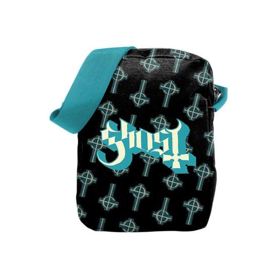 Rocksax Ghost Blue Crucifix Crossbody Bag