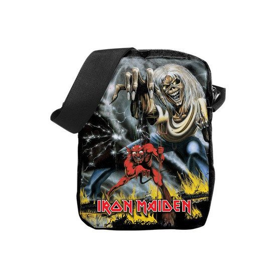 Rocksax Iron Maiden Number Of The Beast Crossbody Bag