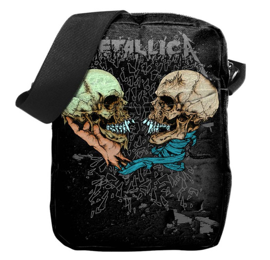 Rocksax Metallica Sad but True Crossbody Bag