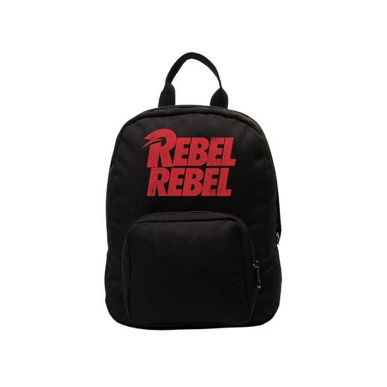 Rocksax David Bowie Rebel Rebel Kids Backpack  SMBOW01
