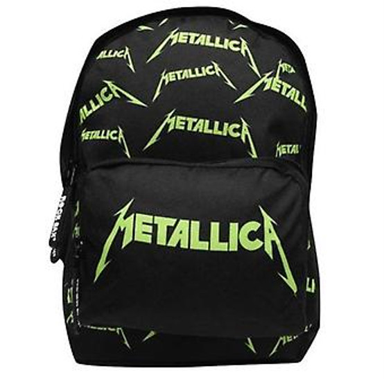 Rocksax Metallica Logo Allover Kids Backpack  SMMET01