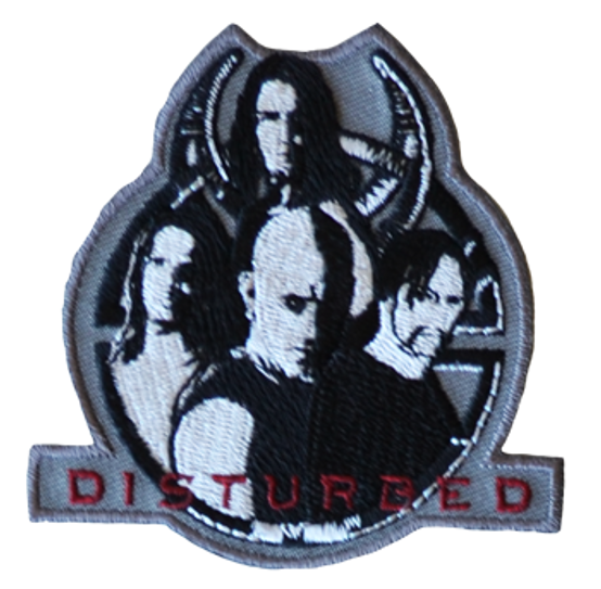 Disturbed Band Patch RPDIS001