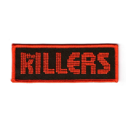 The Killers Patch RPKIL001