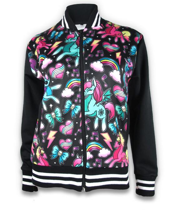 Unicorns Jacket Black GJK-020