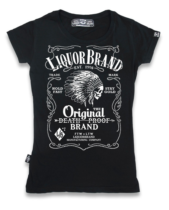Firewater T-shirt Black GT-101
