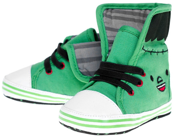 Monster Baby Sneakers Green SPKDSHOE-2