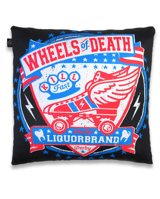 Wheels Of Death Pillow Cover PIL-006