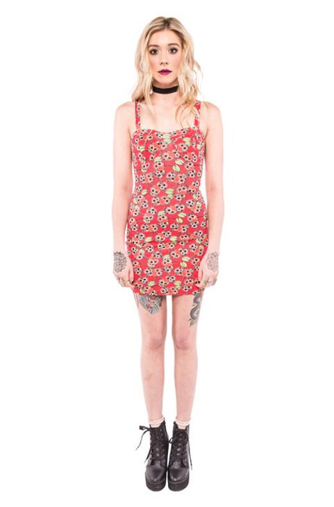 Scary Cherry Dress IFW-004377