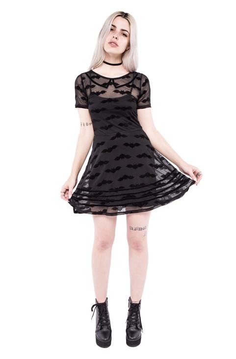 Batty Dress IFW-004315