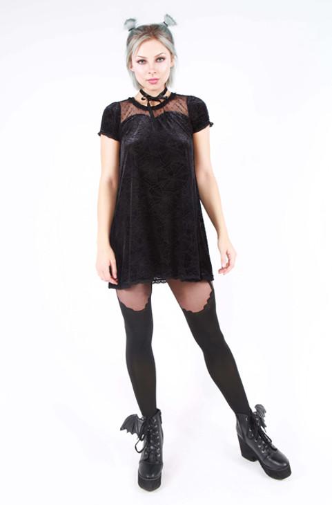 Iron Fist/Cave Creeps Sweetheart Dress IFW005033