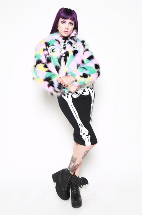 Iron Fist/I See You Fur Jacket  IFW005065