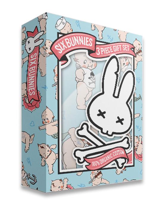 Six Bunnies Kewpie Baby Gift Set