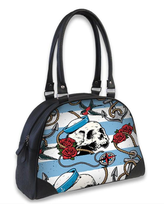 Liquor Brand Nautical Skull Bowling Bag  B-OBW-049