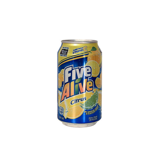 Fake Five Alive Citrus Diversion Safe Can