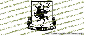 160th SOAR Special Operations Aviation Regiment Night Stalkers Vinyl Die-Cut Sticker / Decal VS1601