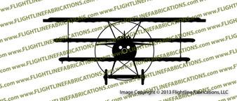 Fokker Dr.I Dreidecker Triplane FRONT Vinyl Die-Cut Sticker / Decal VSDR1F