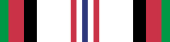 Afghanistan Campaign Medal Vinyl Sticker Graphic