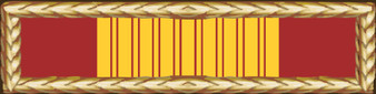 Vietnam Gallantry Cross Service Ribbon Vinyl Sticker