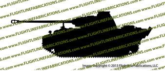Panther Tank Vinyl Die-Cut Sticker / Decal VSPT1