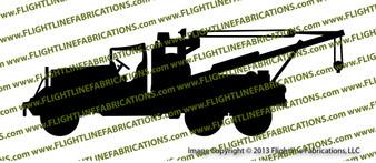 Ward Lafrance M1A1 Heavy Wrecker Vinyl Die-Cut Sticker / Decal VSM1A1HW