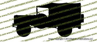 WC-51 Weapons Carrier Dodge Vinyl Die-Cut Sticker / Decal VSWC511