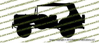 WC-56 Command Car Top Up Vinyl Die-Cut Sticker / Decal VSWC56CC2