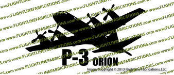 P-3 Orion Anti-Submarine ACTION Vinyl Die-Cut Sticker / Decal VSAP3O